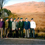 TSM Lee and others from the Burnley branch of the Commando Association