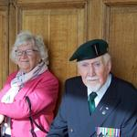 Eric Buckmaster, No.2 Commando, and his wife Margaret.