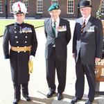 Maj General David McDowall, CBE; Brigadier Jack Thomas, CBE; Mr Eric Blackburn.