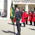 David Davies and The CVA Standard on Parade