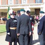 The Reviewing Officer thanks Brigadier Jack Thomas