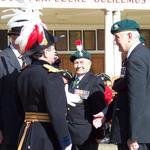 The Brigadier thanks Maj Gen McDowall