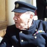 In-Pensioner Fred Walker, No.3 Commando