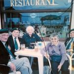 Roy Suzuki (front left), Harry Ritter (next to him), and others, 2004, Normandy