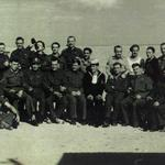 Pte Augustus George Evans MM and others from the Special Boat Squadron in 1944