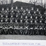 Sgt Raymond Craddock and others 1946 Milton Barracks
