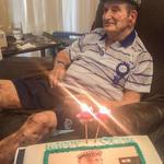 Raymond Charles Craddock on his 90th birthday 26/02/2015