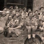 No.2 Commando group in jeep