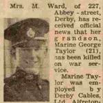 Marine George Taylor