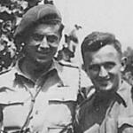 L/Cpl Fred Hausman, DCM, and Dvr Theodor Bondy,BEM.