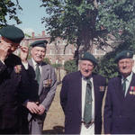 Group of Veterans including Major John 'Chips' Heron, MC, No.5 Commando