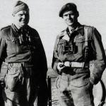 Lt Col's Sankey 40 RM Cdo. and Fynn No.2 Cdo.