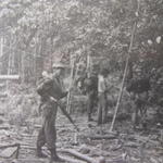 Alex McFarlane and others from 40 Cdo in Sarawak 1967