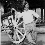 Bob Mewett at Bangalore, India 1945