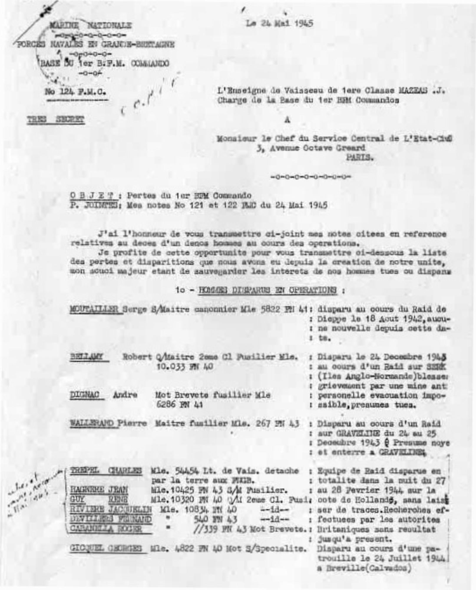 french document