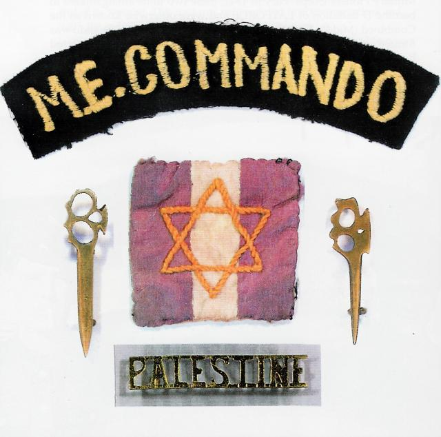 Various insignia of the Middle Eastern Commandos.