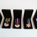 The medals of Cpl Kenneth Edward Clarke