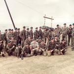 131 Indep Cdo Sqn RE(V) aerial ropeway construction at Weymouth 1989
