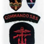 Insignia of the Special Boat Sections of the Army Commandos.