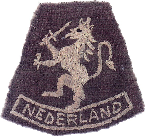No10 (IA) Commando 2 Dutch troop shoulder patch