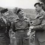 Capt. Lloyd Marr, Lt Col Charles Vaughan, and Lord Lovat