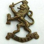 No10 (IA) Commando 2 Dutch troop cap badge.