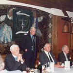 Jed Price ( Central Ayrshire branch), Henry Brown OBE (Nat. Sec) and others -