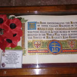 Remembrance service by the memorial in the cloisters at Westminster Abbey (4)
