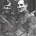 Lance Sergeants Ernest White DCM and Roy Herbert DCM, MM.