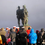 Commando Memorial Service 8th Nov 2015