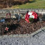 Items of Remembrance in the garden. 1