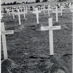 The grave of Pte. Lionel Bowman