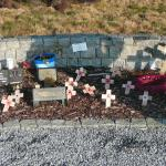 Items of Remembrance in the garden. 8