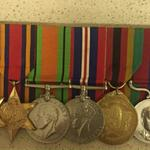 Ronald Doughty's Medals