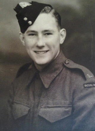 Fred Carrington prior to transfer to 43RM Commando