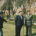 Ron Walters, FredCarrington, Colonel i/c Comacchio Grp