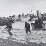 47RM Commando landing at Normandy