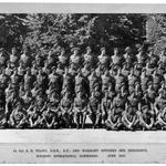 Holding Operational Commando (HOC)  Warrant Officers and Sgts. June 1945