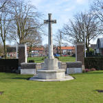 Nederweert Cemetery Cross