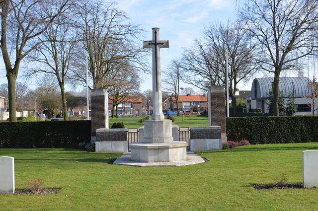 Nederweert Cemetery Cross