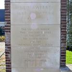 Nederweert Cemetery engraved stone