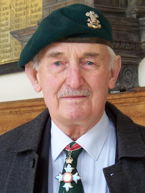 Brigadier Jack Thomas, CBE, No.6 Commando