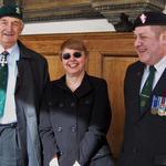 Brigadier Jack Thomas, Elizabeth Davies & Paul Hobart