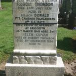 Private Donald Thomson
