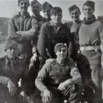 Fred Peachey and others from No.2 Cdo in1942