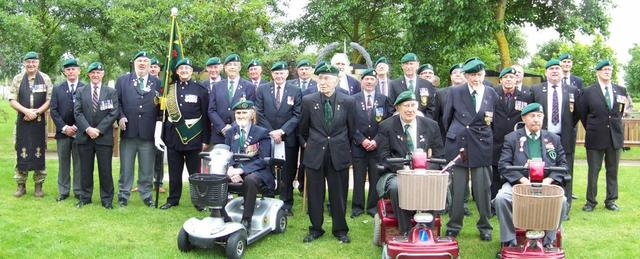 Group Photo of Commando Veterans