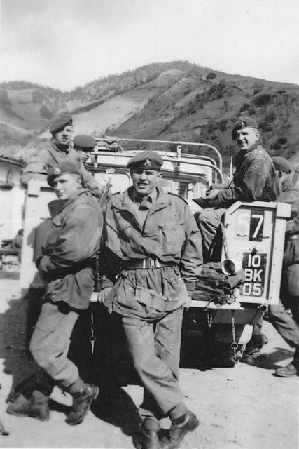 Part of S-Troop 45 Commando in Cyprus circa 1955/6