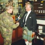 Commando Speed March Presentation Achnacarry 1995. Photos courtesy of Jack Bakker.