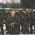 Niall Thomson and recruits from Dutch Elementaire Commando Opleiding  (Elementary Commando Course).