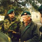 Niall with the Dutch Commando  instructors